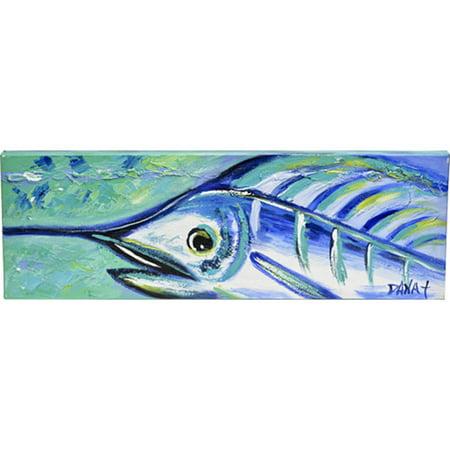 Thompson And Elm Dana Wittman Coastal Marlin Painting Print On Canvas