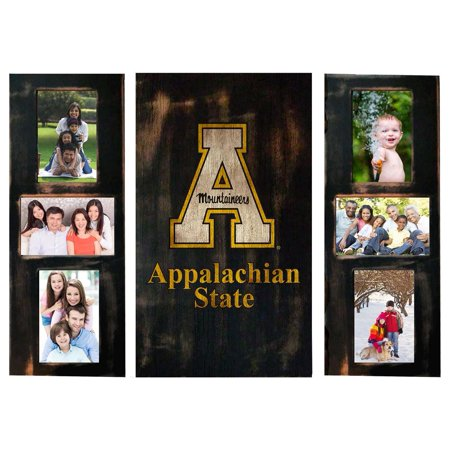 Appalachian State Picture Frames Set Wooden Photo Collage Frames