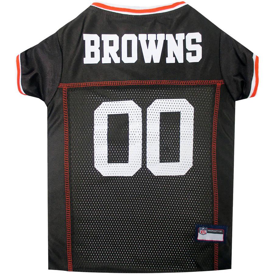 Pets First NFL Cleveland Browns Pet Jersey