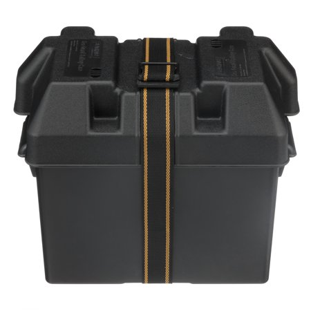 Seachoice (22080) 22080 USCG-Approved Marine Group 27 Series Standard Battery Box with Strap & Mounting Kit