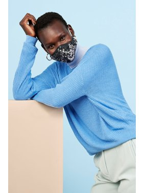 iMPOWER by Prabal Gurung Reversible Face Mask, Black Animal Print