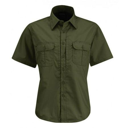 Propper Kinetic Women's Short Sleeve Tactical Button Down Duty Uniform Shirt ()