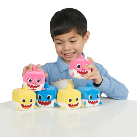 Pinkfong Baby Shark Official Song Cube - Baby Shark Family - by WowWee