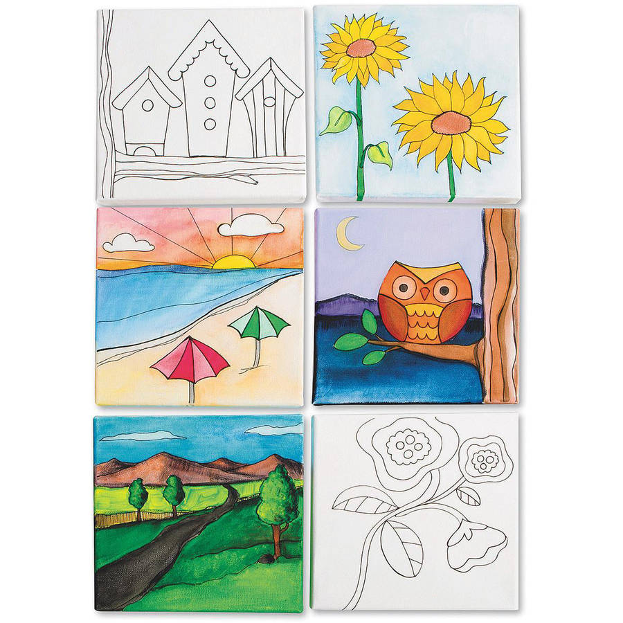 Designer Canvas Set II, Pack of 12