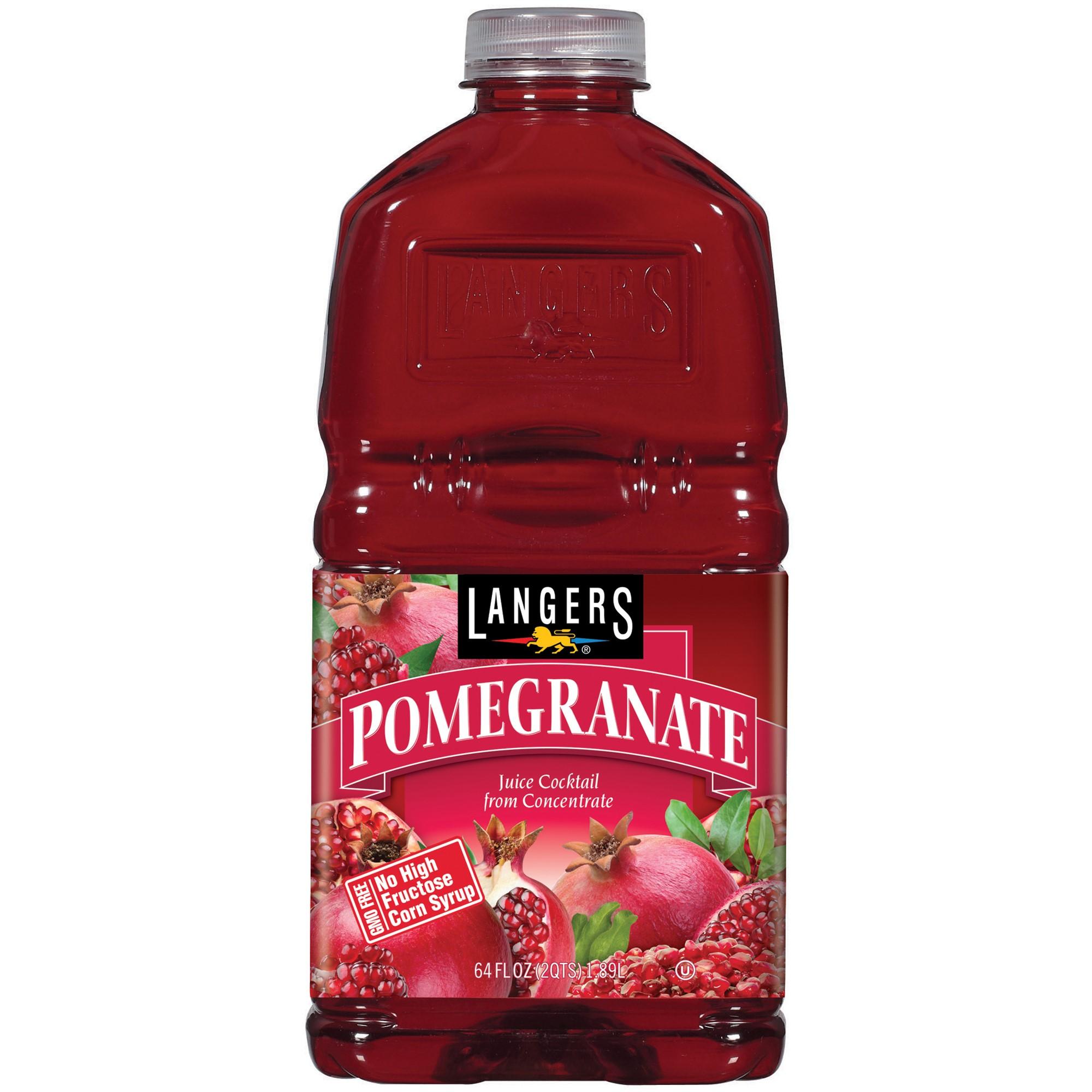 Langers Juice Cocktail, Pomegranate, 64 Fl Oz, 1 Count