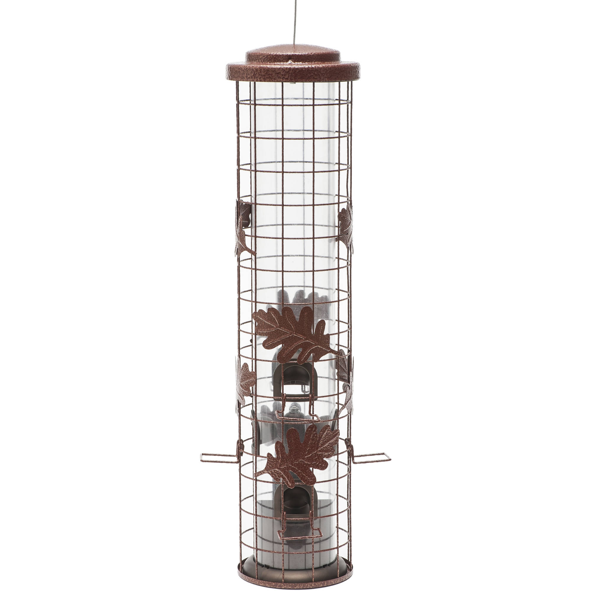 Perky-Pet Squirrel-Be-Gone Cylinder Wild Birdfeeder by WOODSTREAM CORPORATION