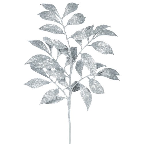The Holiday Aisle 6 Piece Camelia Glitter Christmas Branch (Set of 6)