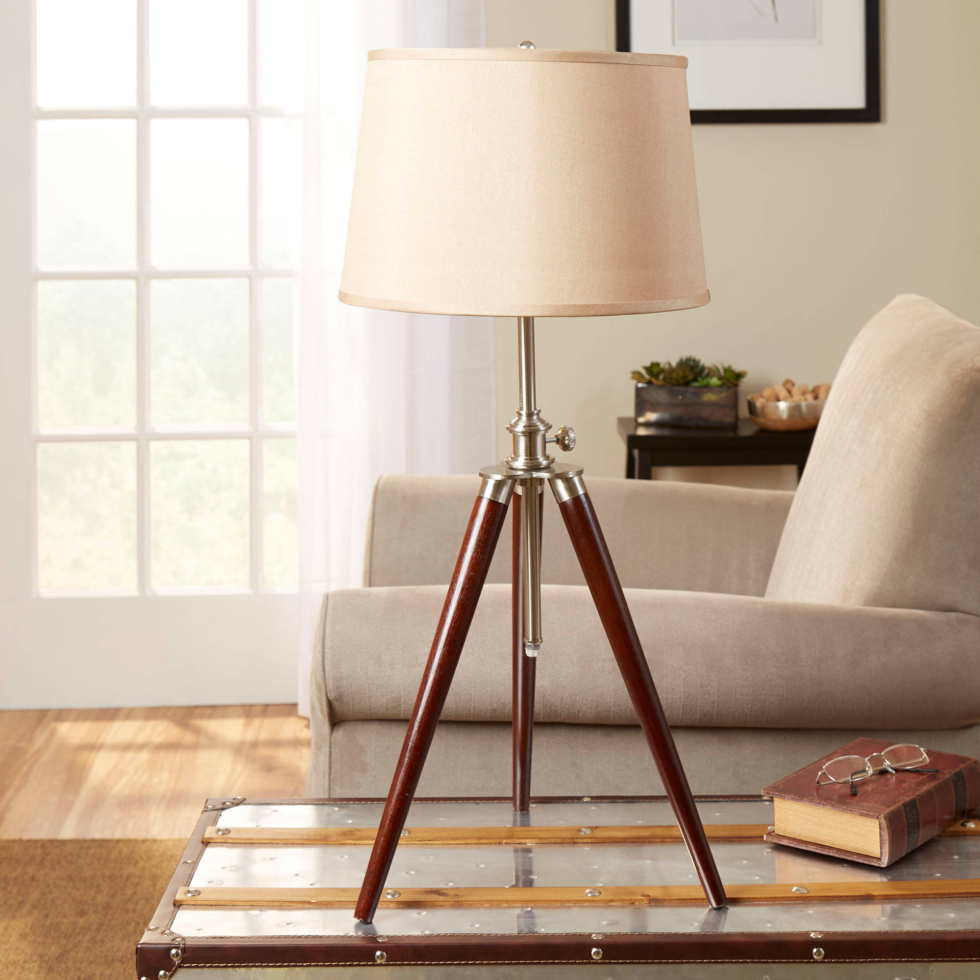 Better Homes and Gardens Survey Tripod Base, Espresso