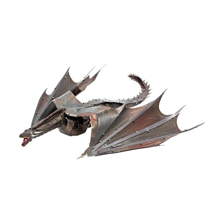 Metal Earth ICONX 3D Metal Model Kit - Game of Thrones Drogon - Metal Classic Model Kit
