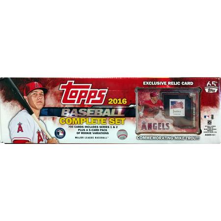 1980 Topps Baseball Card - 2016 Topps Baseball Stamp Card Complete Set