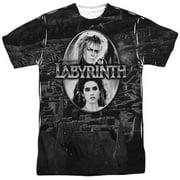 Fantasy Adventure Movie Jareth's Maze Adult 2-Sided Print T-Shirt