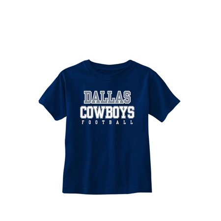 Dallas Cowboys Kids Navy Short Sleeve Practice T-Shirt
