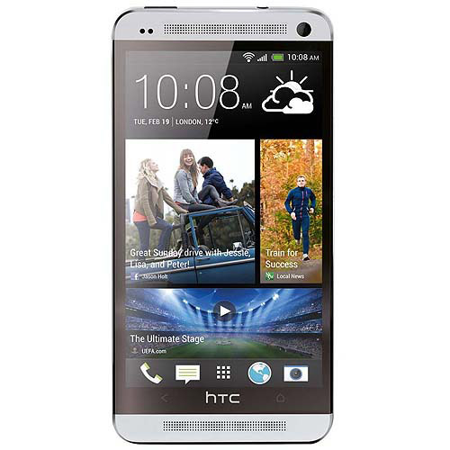 HTC One Smartphone, Silver (Unlocked)