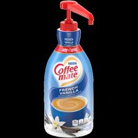 Coffee Mate French Vanilla Liquid Coffee Creamer, Bulk Coffee Creamer Pump Bottle, 50.7 Oz