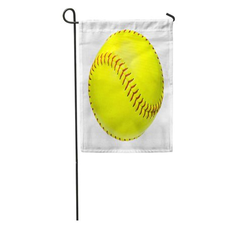 LADDKE Yellow Baseball Softball Ball Equipment Sport White Garden Flag Decorative Flag House Banner 12x18 inch](Baseball Banner)