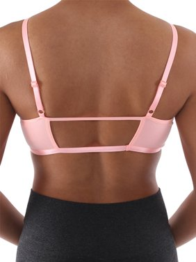 c9bf0423d7 Product Image Womens Active Basic Front Strap Seamless Solid Color Design Sports  Bra Top