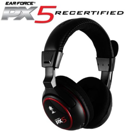 Ear Force PX5 Programmable Wireless 7.1 Dolby Digital Surround Sound Headset with
