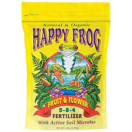 Happy Frog Fruit & Flower Fertilizer, 4-Lbs. (Best Fertilizer Flower Garden)