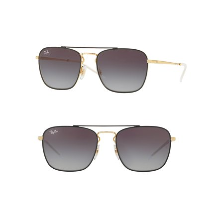 642df82b768 Ray-Ban - Ray-Ban Unisex RB3588 Square Metal Sunglasses