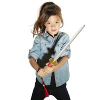 """Disney Mulan 22"""" Sword with Motion Sensor Activated Sounds Perfect for any little warrior! For Girls Ages 3+"""