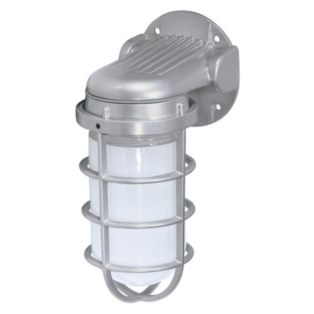 "1 Light - 11"" - Industrial Style - Wall Mount w/Frosted Glass"