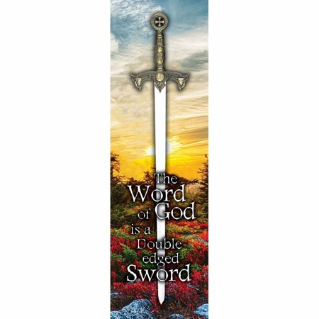 Bookmark Combo Packs - Armor of God Bookmarks for Adults Hebrews 4:12, Pack of 50