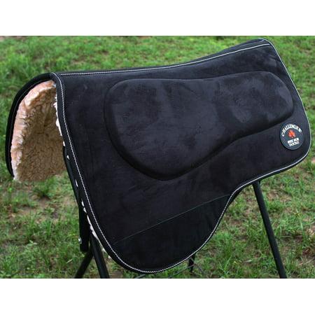 Freak 16' Barrel Front - Western Horse SADDLE PAD Barrel Memory Foam Fur Bottom 3982