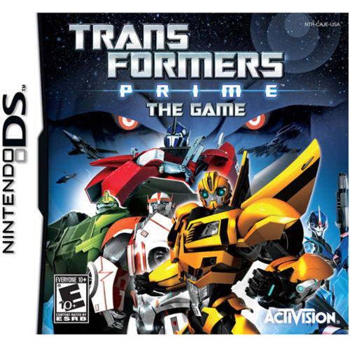 Transformers Prime The Game (DS) - Pre-Owned