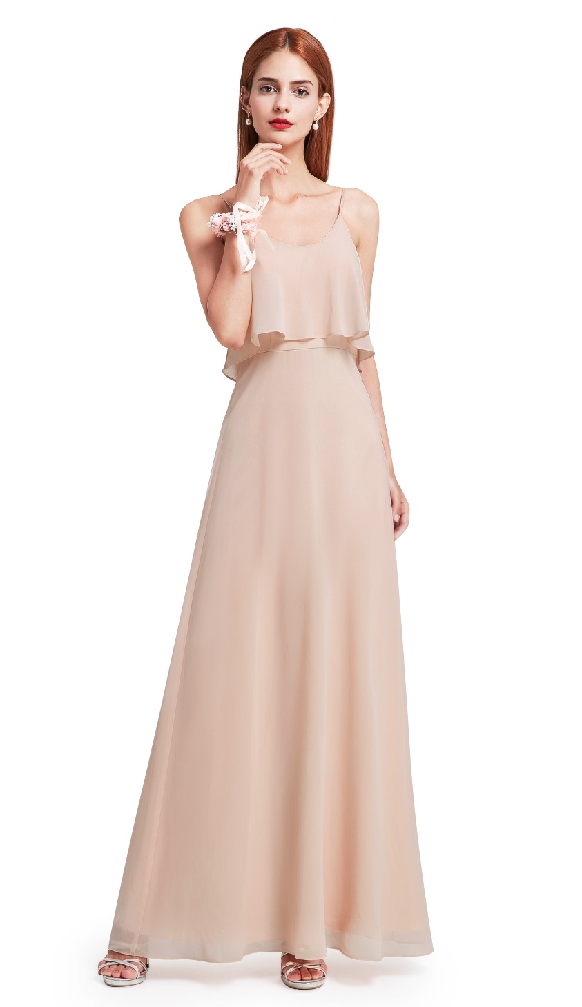 Ever,Pretty Women\u0027s Classical Semi,Formal Long Evening Prom Party Wedding  Guest Dresses for Women 07131 US 14