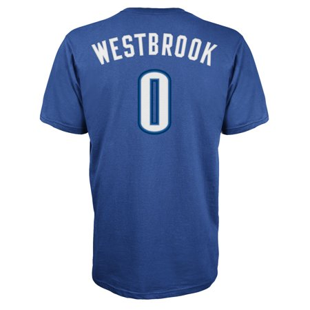 edcedbe46de UPC 886835375762 product image for Oklahoma City Thunder Russell Westbrook  Adidas NBA Men Player T Shirt ...