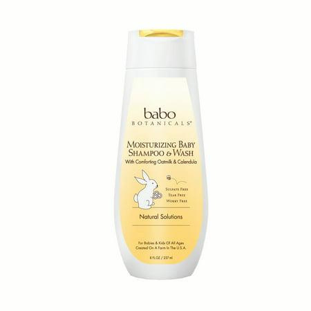 Moisturizing Baby Shampoo & Wash