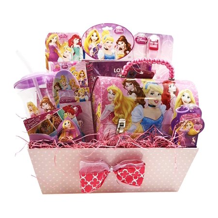 Easter Gift Baskets Disney Princess Themed Holiday Gifts Idea For Girls Wish Her During Birthday Get Well 10 Jewelry Cosmetics Items