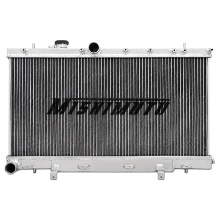 Mishimoto MMRAD-WRX-01X Performance X Line Aluminum Radiator with Manual Transmission for Subaru WRX and STI (Aluminum Design Manual)