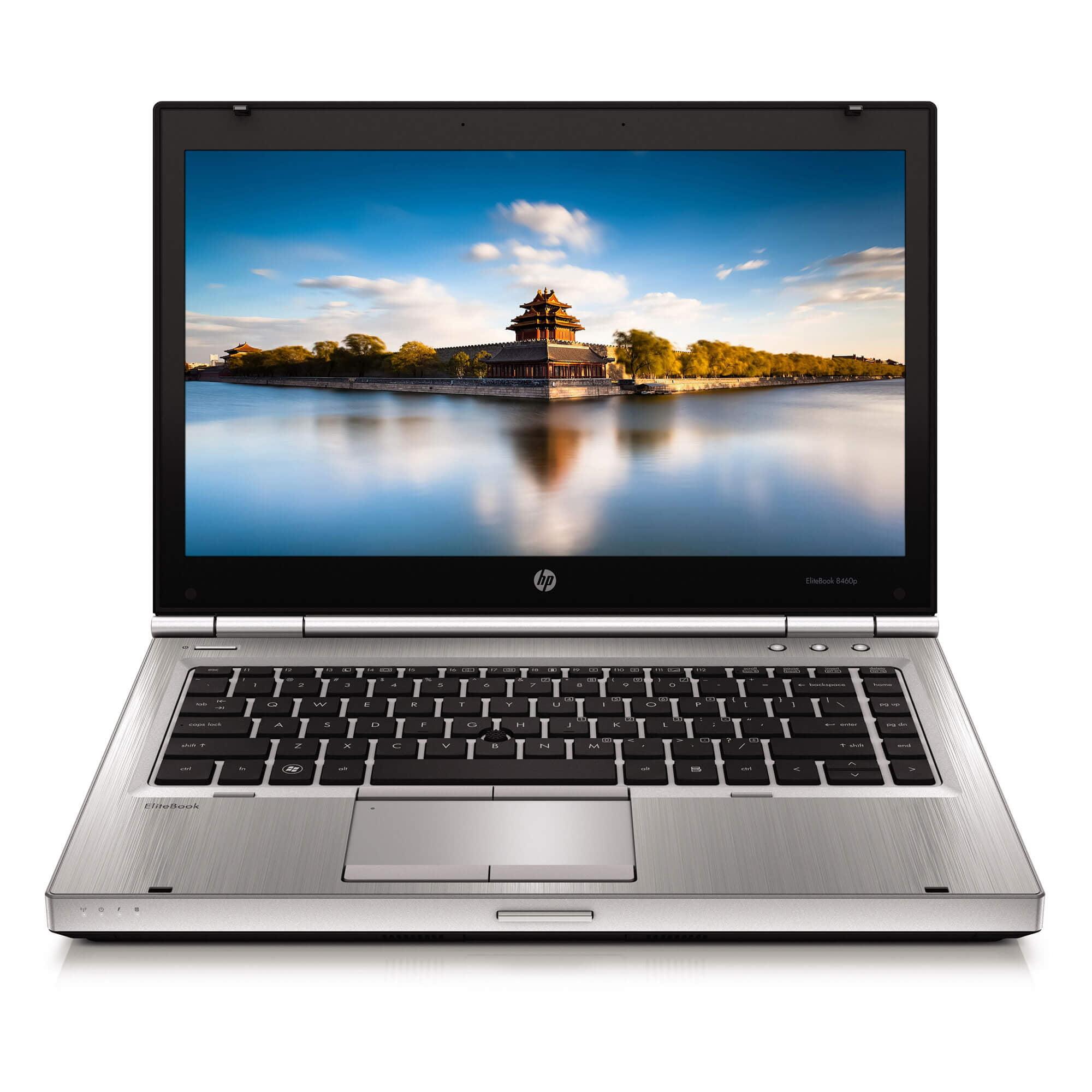 HP Laptop Elitebook 8460P Intel i5 8gb 320gb HD DVD Wifi Windows 10 Professional
