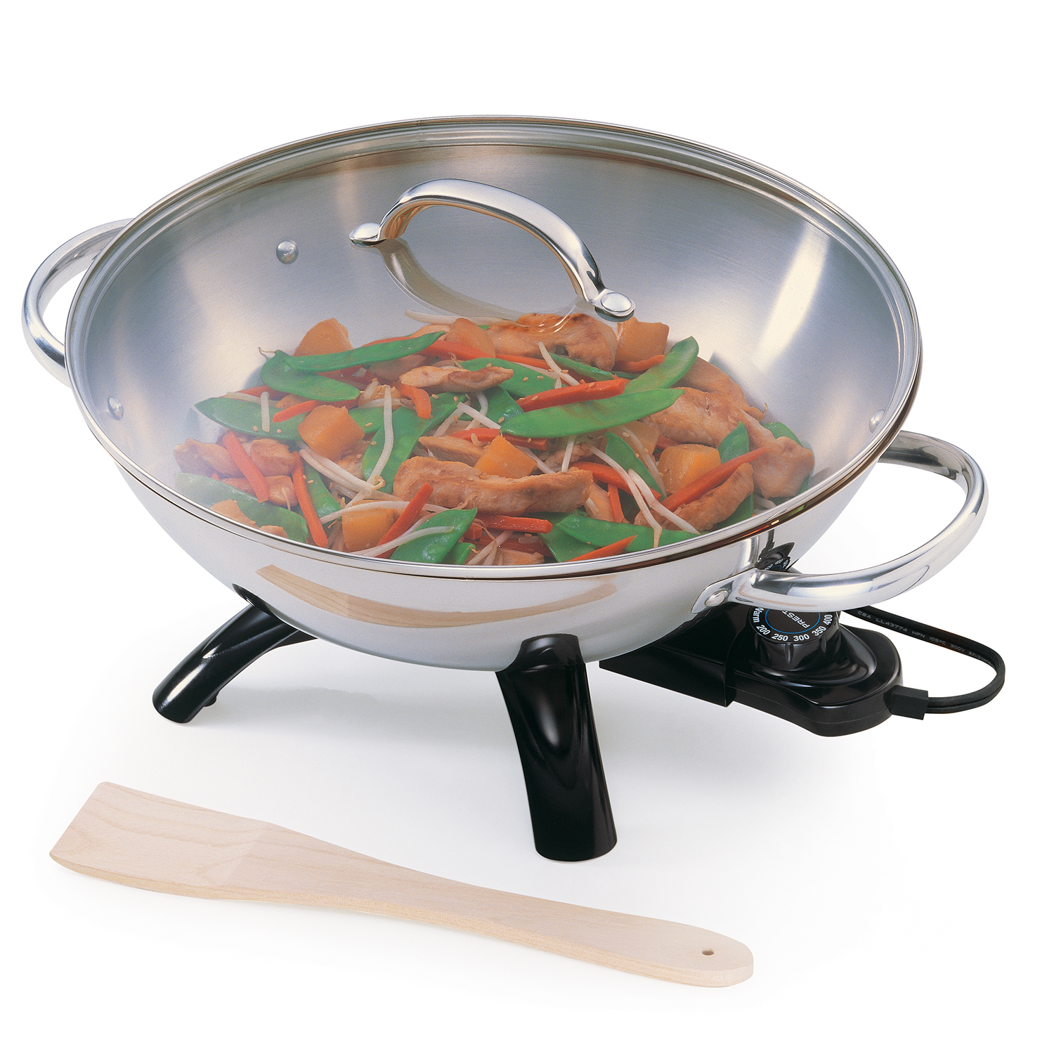 Presto Stainless Steel Electric Wok 05900