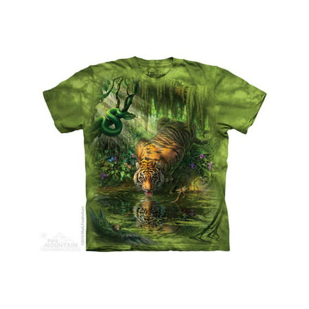 The Mountain Enchanted Tiger Adult T-Shirt Tee