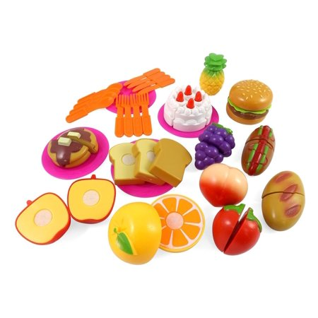 Kitchen Fun Cutting Fruits & Fast Food Play set for Kids (Halloween Fun Food For Kids)