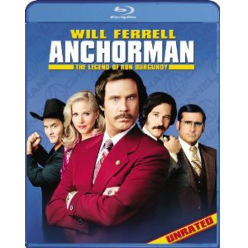 Anchorman: The Legend Of Ron Burgundy (Unrated, Uncut And Uncalled For!) (With INSTAWATCH)