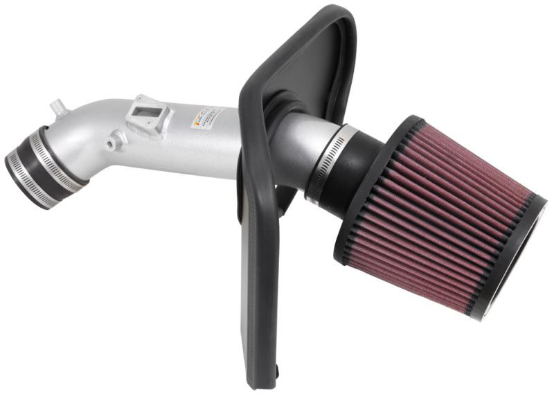 K/&N Typhoon Silver Cold Air Intake for 2013-2017 Ford FOCUS ST 2.0L Turbo