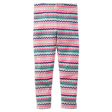 Carters Baby Clothing Outfit Girls Printed Leggings color Fairisle