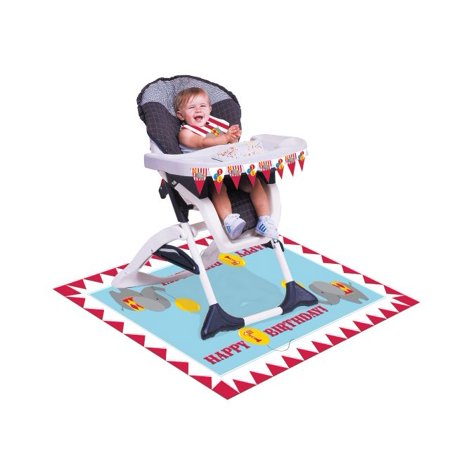 Circus Themed Party (Access Circus Time! High Chair Kit, 1)