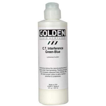 Violet Fluid (Golden - Fluid Acrylic - 8 oz. Bottle - Ultramarine)