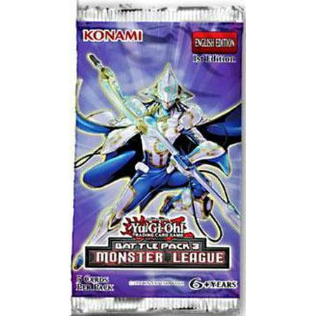 Battle Pack #3 - Monster League Booster Pack MINT/New