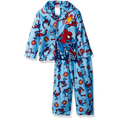 Marvel Boys' Spiderman 2-piece Pajama Coat Set - Marvel Boys