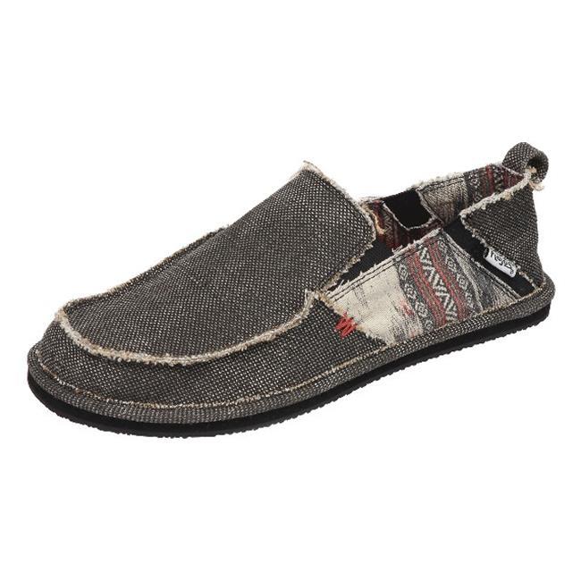 Flojos Mens Dustin Shoes, Charcoal Size 7 by Flojos