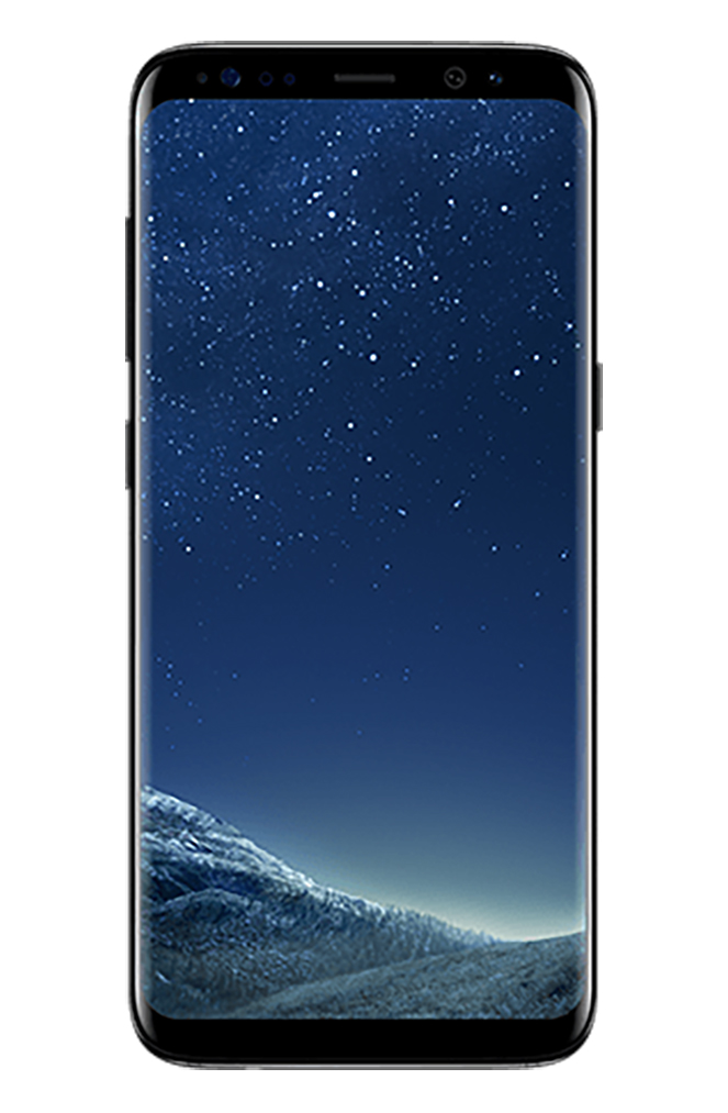 Total Wireless Samsung Galaxy S8 64GB Prepaid Smartphone, Black by Samsung