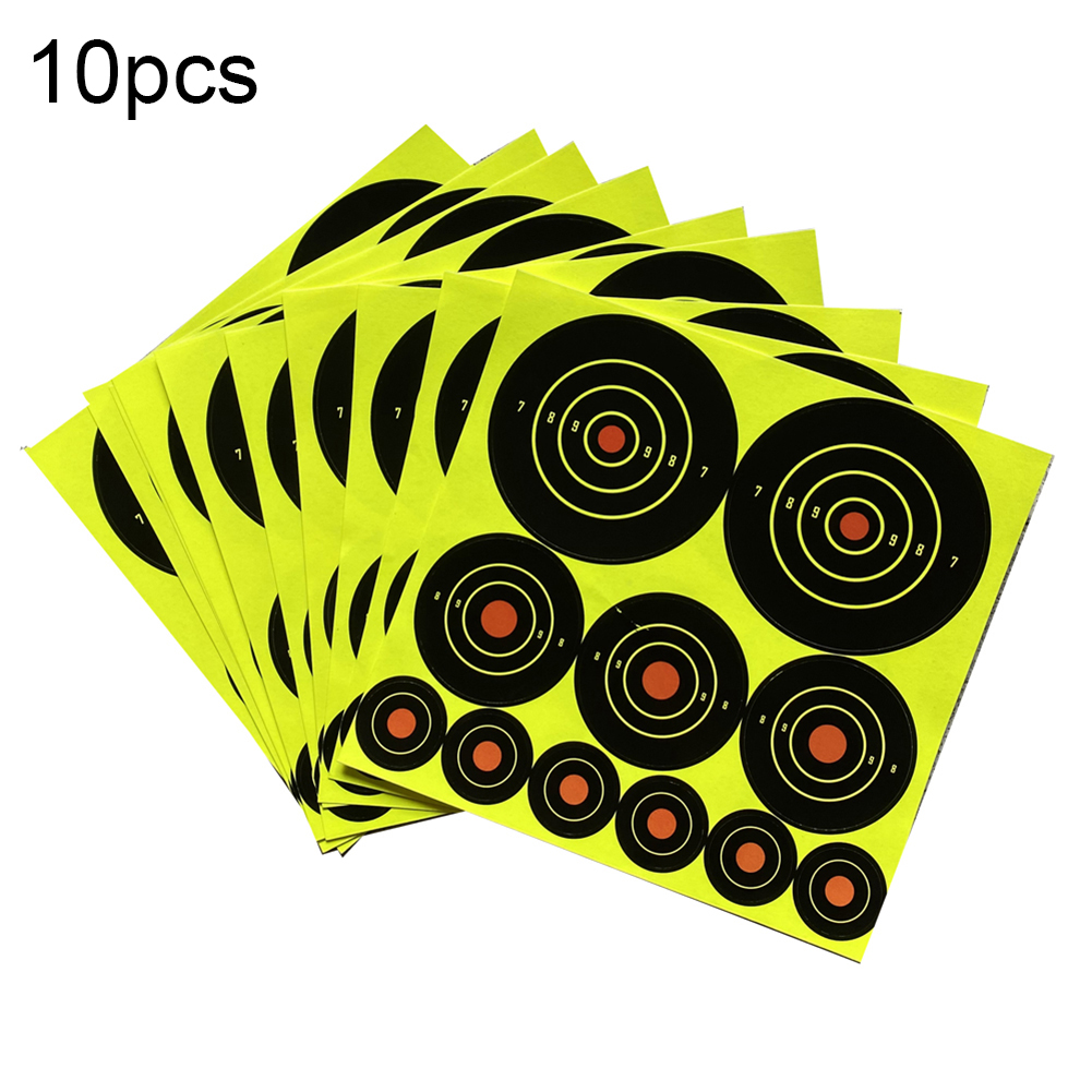 Set Roll Splatter Target Shoot Practice Stickers Set For Hunting Adhesive Types