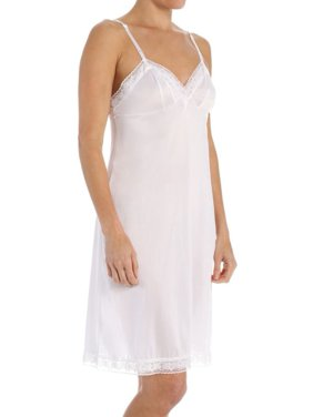 "Women's 1010322 Full Slip 22"" Lace Trimmed"