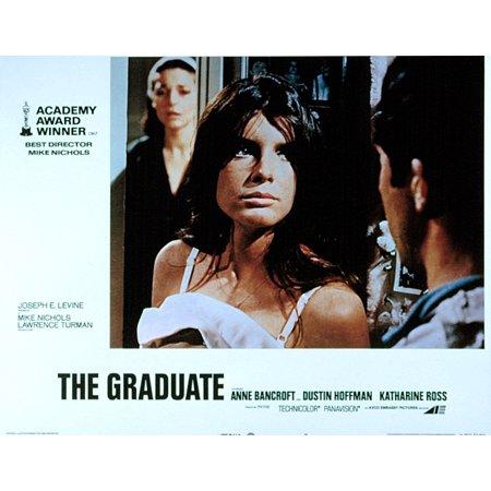 The Graduate Anne Bancroft Katharine Ross Dustin Hoffman 1967 Movie Poster Masterprint