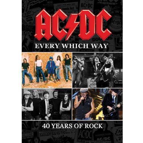 AC DC: Every Which Way 40 Years Of Rock (Music DVD) by